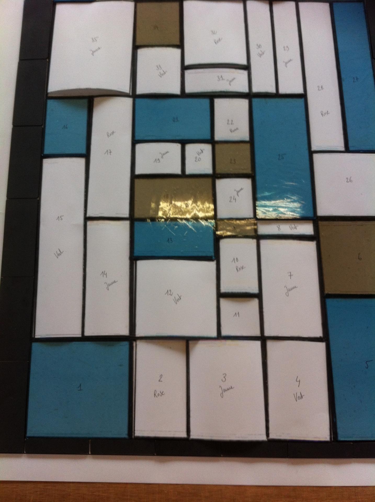Les pièces en verre prennent vie