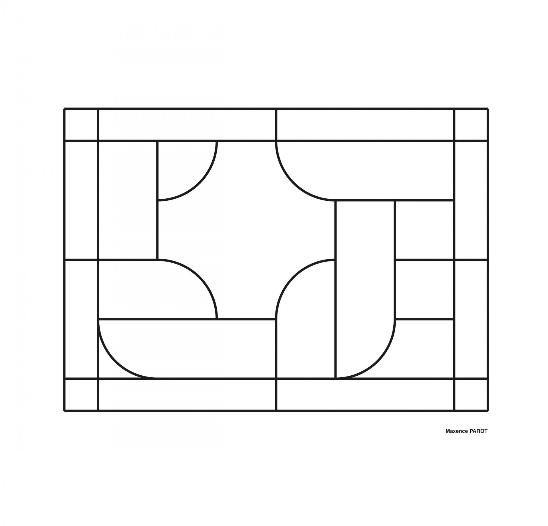 Création d'une maquette avec figure géométrique